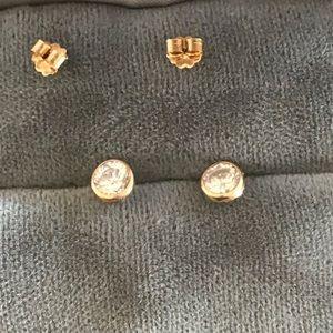 14K Stud Earrings- Pierced